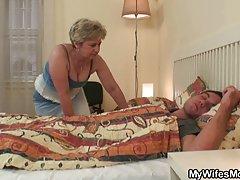 Filmy darmowe erotyczne stary worek korzysta z zięciem